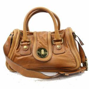Auth Chloe Medium Leather Shoulder Bag #880O66
